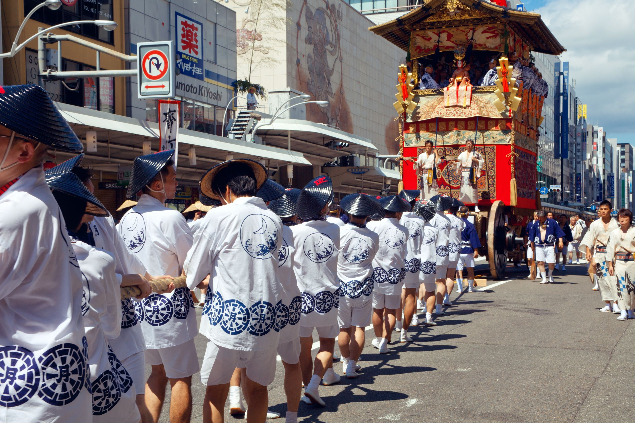 The Gion festivals in Japan
