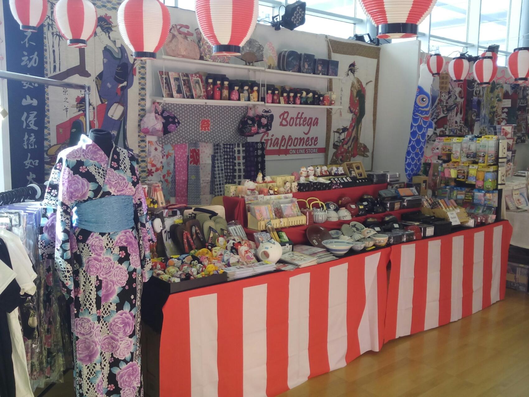 Esposizione al festival giapponese