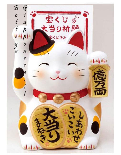 Maneki neko gatti giapponesi porta fortuna - Foto porta fortuna ...