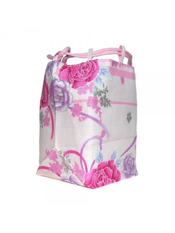 Borsetta accessori Kinchaku Rosa