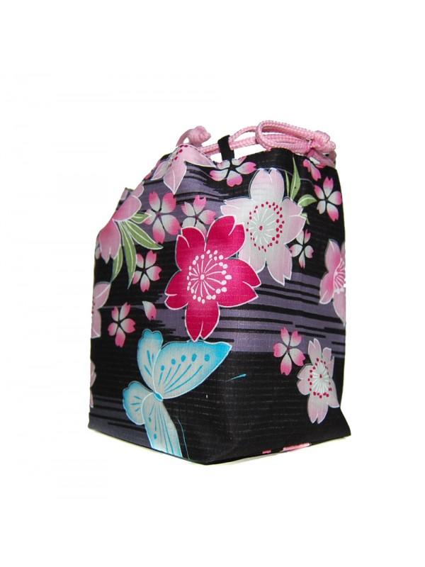Borsetta accessori Kinchaku farfalle