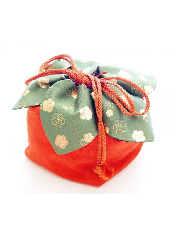 Borsetta Kinchaku petali handmade