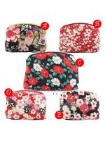 Porta trucco pouch fiori del Giappone