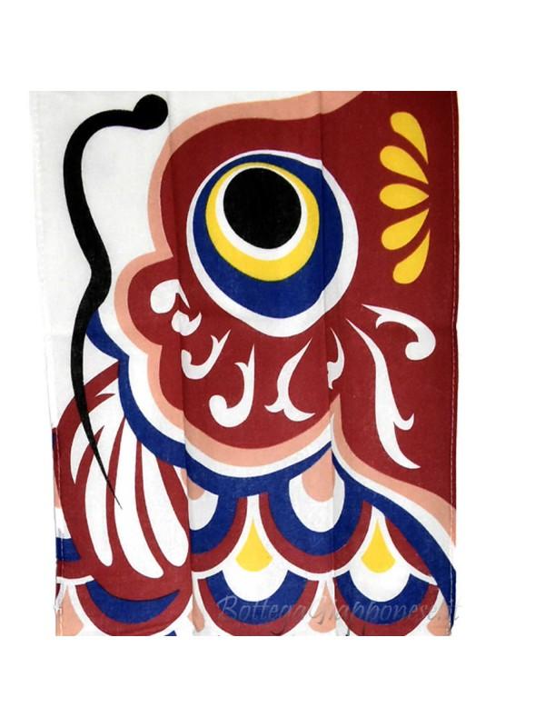 Tenugui bandana con disegno koinobori