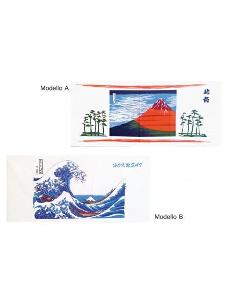 Tenugui art Hokusai