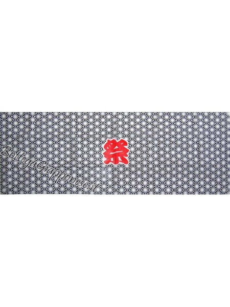 Tenugui bandana Matsuri nera