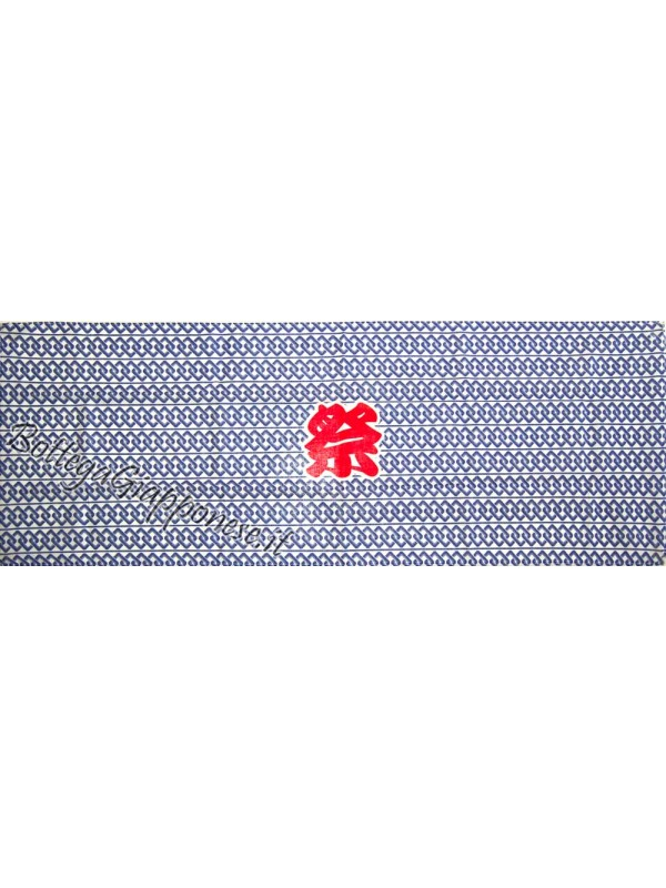 Tenugui bandana Matsuri blu