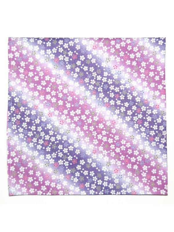 Furoshiki motivo fiori sakura colorati (50x50cm)