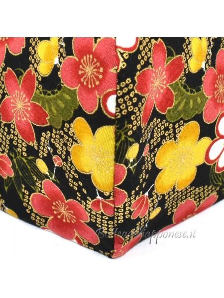 Maschera motivo floreale sakura