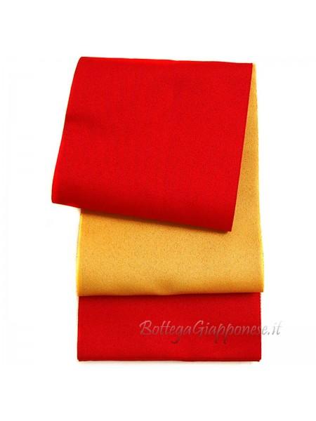 Obi cintura gialla | rossa