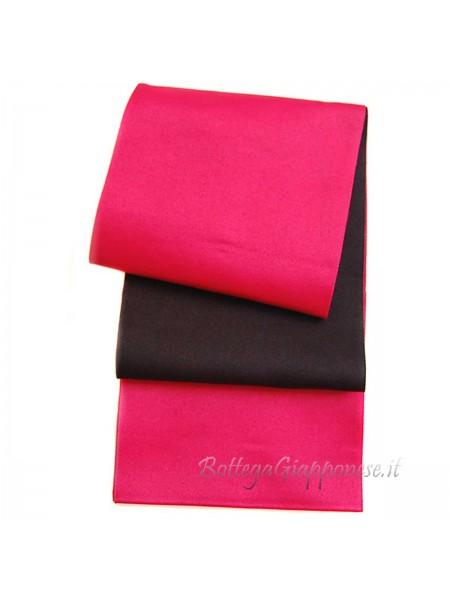 Obi cintura ciliegia | nera