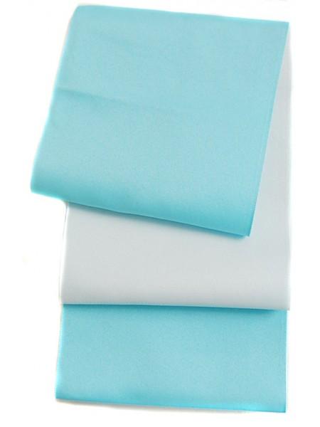 Obi cintura azzurra | grigio