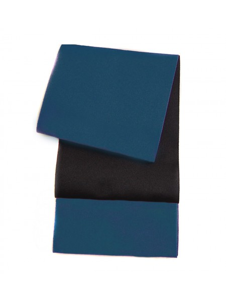 Obi cintura turchese | nero