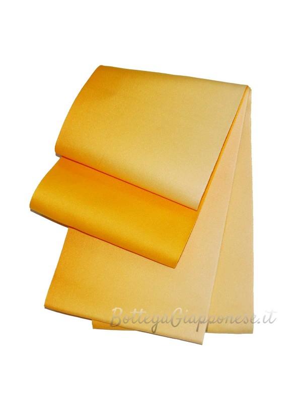 Obi cintura giallo con sfumatura