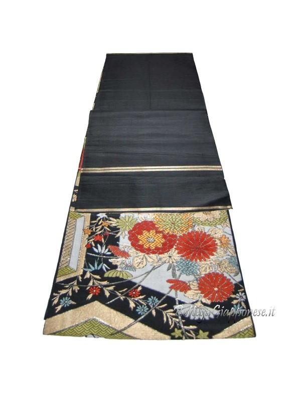 Fukuro-Obi cintura fiori del Giappone