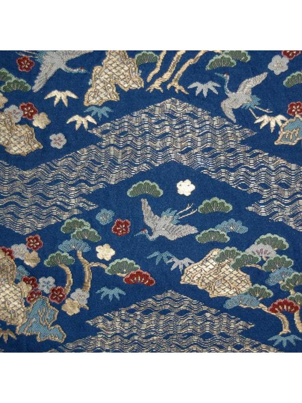 Fukuro-Obi Matsu Ao cintura kimono
