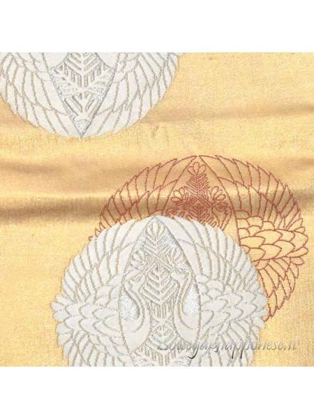 Fukuro-Obi kamon cintura kimono