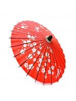 Wagasa parasole umè rosso