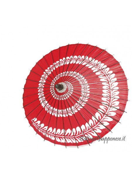 Wagasa parasole fuji rosso