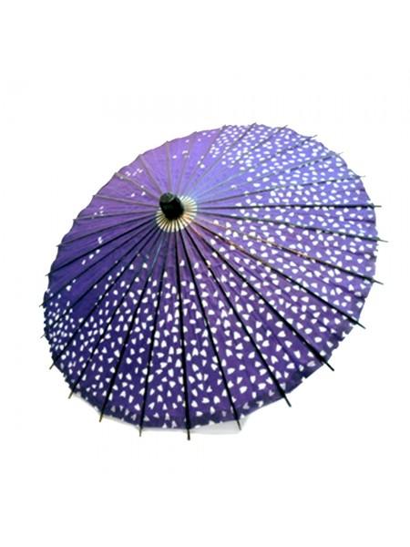 Wagasa parasole sakura viola