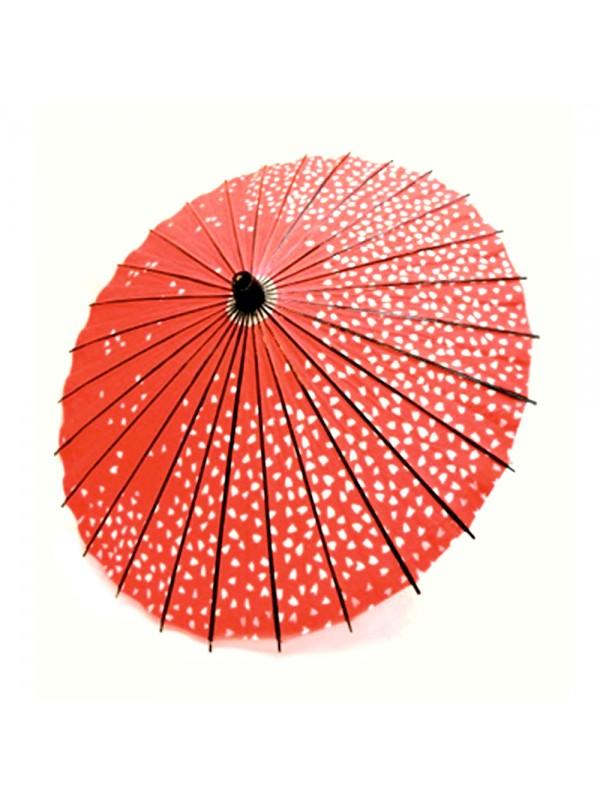 Wagasa parasole sakura rosso