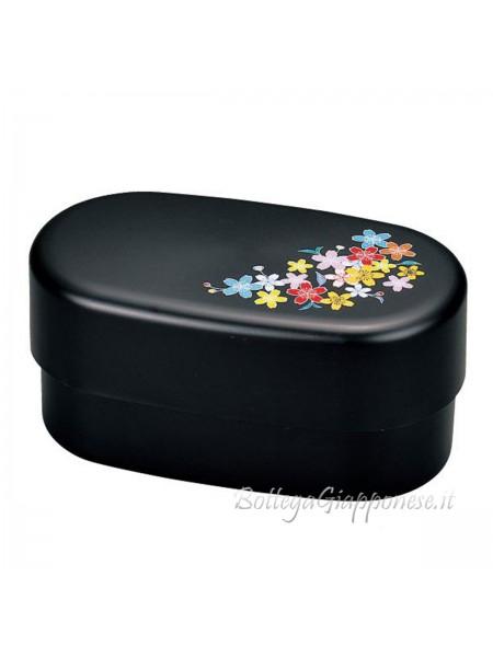 Bento box fiori ciliegio colorati