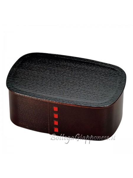 Bento box wappa effetto legno