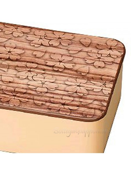 Bento sakuragime kinari venature legno