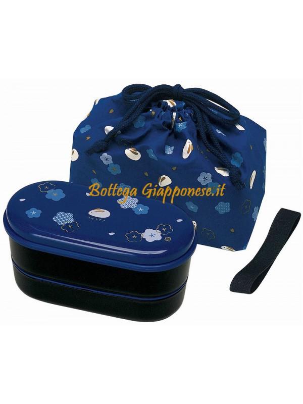 Bento usagi completo di borsa e bacchette