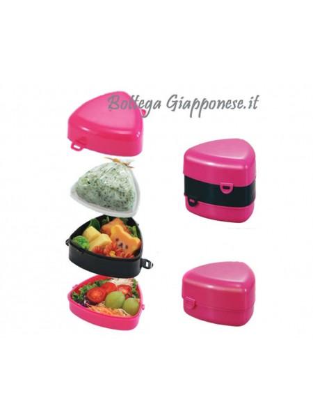 Onigiri bentobox 3 scomparti pink