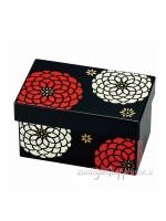 Bento box laccatura giapponese nero