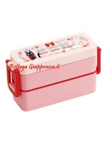 Bento Kiki's delivery lunchbox 2 ripiani