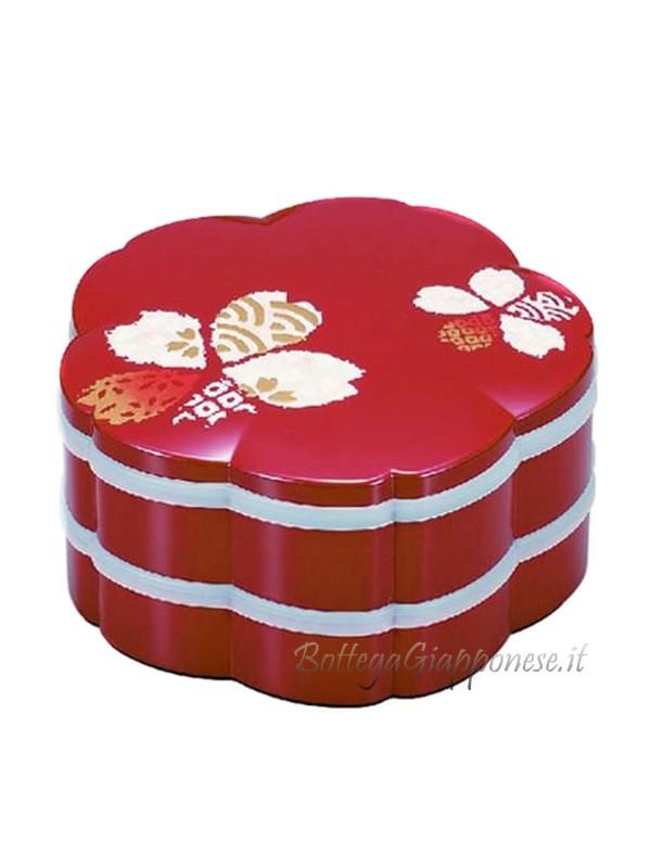 Bento giapponese chiyogami picnic jubako
