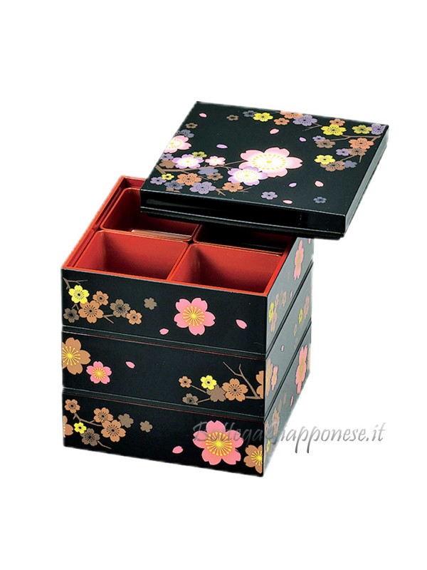 Bento giapponese sakura picnic jubako