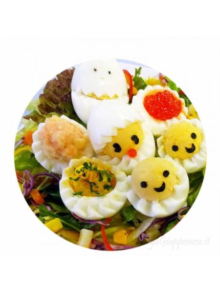 Formine per uova onda e zig zag