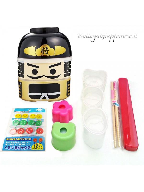 Bento setbox combo samurai
