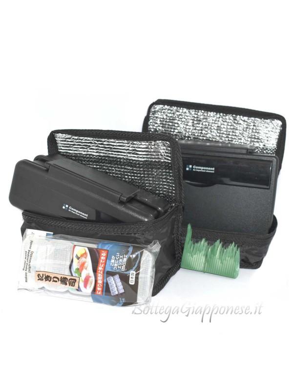 Bento setbox combo 2 bento con sportine e accessori