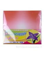 Fogli origami colori sfumati