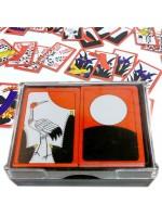 Carte da gioco Hanafuda bordi rossi