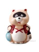 Porta fortuna Tanuki procione giapponese