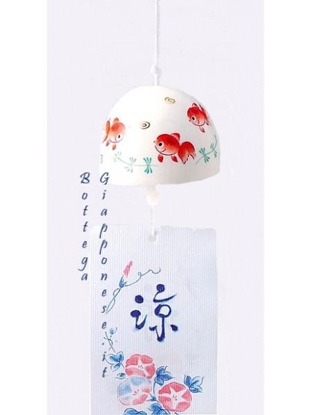 Fuurin campana con disegni kingyo