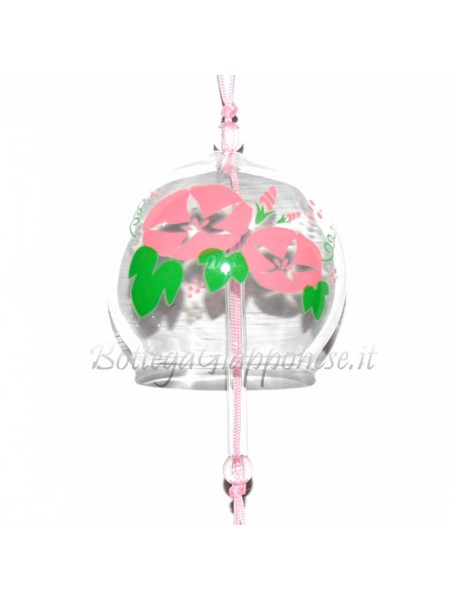 Fuurin vetro campanella fiore di asagao