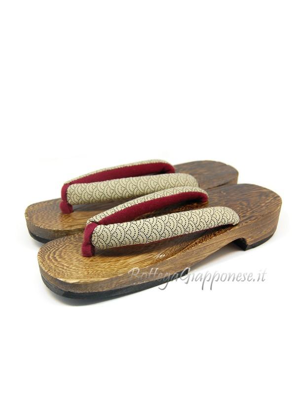 Geta Sandali legno hanao onde (mis. L)