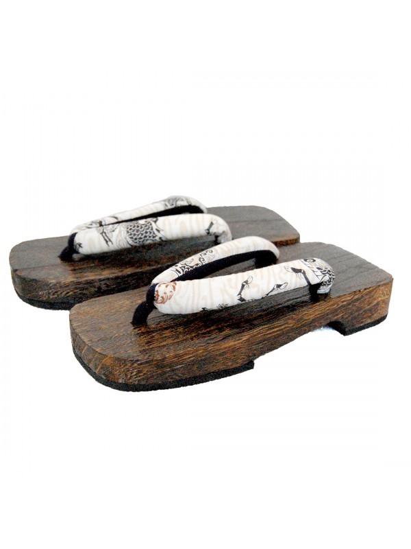 Geta sandali in legno infradito dragone fluttuante