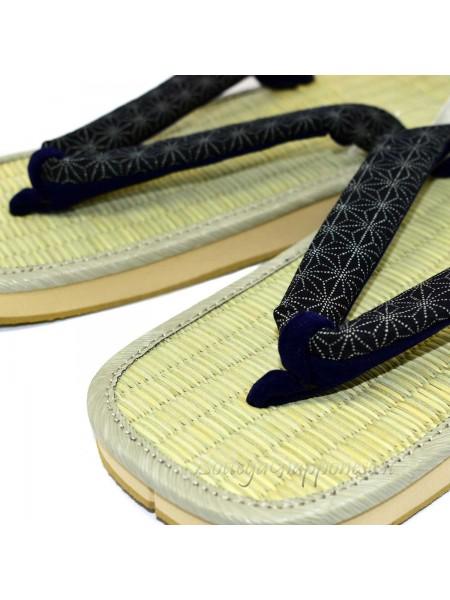 Zori sandali infradito naturali giapponesi 24cm