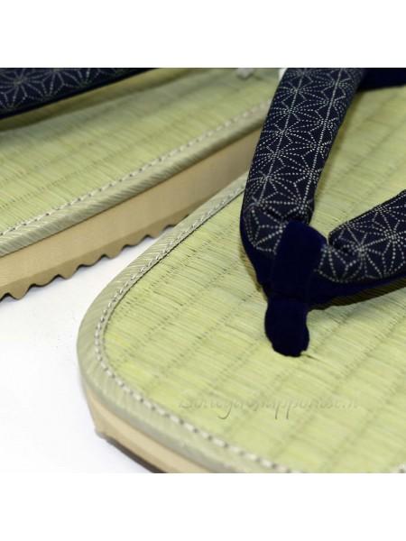 Zori sandali infradito naturali giapponesi 26cm
