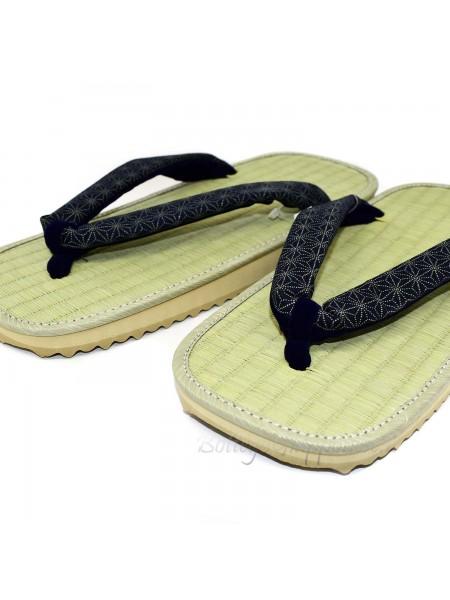 Zori sandali infradito naturali giapponesi 30cm