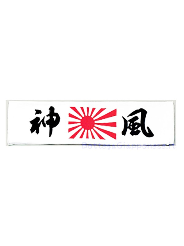 Hachimaki bandana giapponese ideogrammi Kamikaze