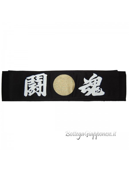 Hachimaki Toukon bandana nera