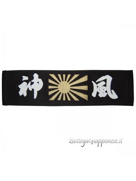 Hachimaki bandana nera Kamikaze